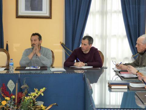 Pleno celebrado o día 30 de xaneiro (Foto cedida por Susana Prieto)