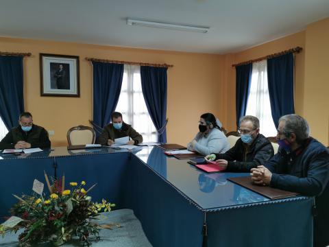 Sesión plenaria celebraba o día 26 de novembro