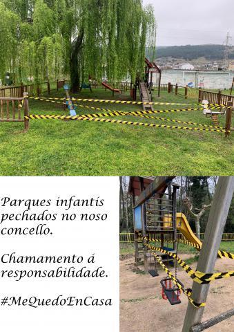 Peche dos parques infantís no concello