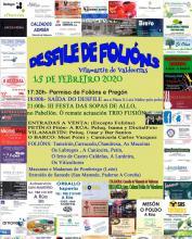 Cartel da III Festa das Sopas de Allo e Desfile de Folións