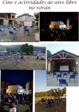 Resume de actividades ao aire libre en varias localidades